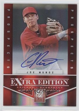 2012 Elite Extra Edition #162 - Joe Munoz /498