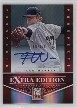 2012 Elite Extra Edition #181 - Tyler Wagner /478