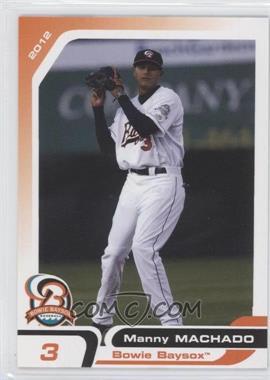 2012 Grandstand Bowie Baysox #17 - Manny Machado