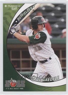 2012 Grandstand Fort Wayne TinCaps #N/A - Kyle Gaedele