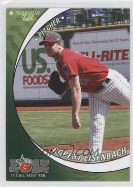 2012 Grandstand Fort Wayne TinCaps #N/A - Robert Eisenbach