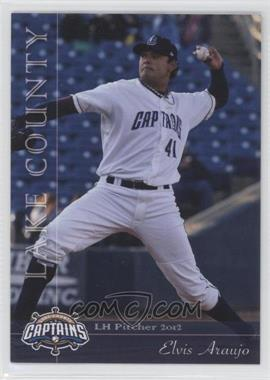 2012 Grandstand Lake County Captains #N/A - Elvis Araujo