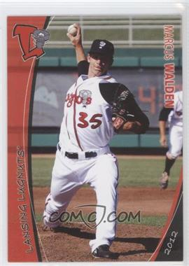 2012 Grandstand Lansing Lugnuts #35 - Marcus Walden