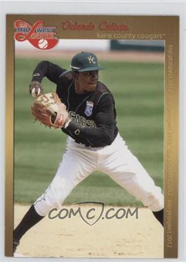 2012 Grandstand Midwest League Top Prospects - [Base] #ORCA - Orlando Calixte