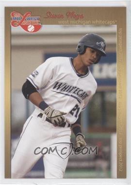 2012 Grandstand Midwest League Top Prospects #JOBO - Jorge Bonifacio (White Jersey)