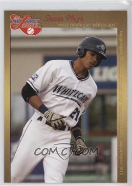 2012 Grandstand Midwest League Top Prospects #JOBO.2 - Jorge Bonifacio (White Jersey)