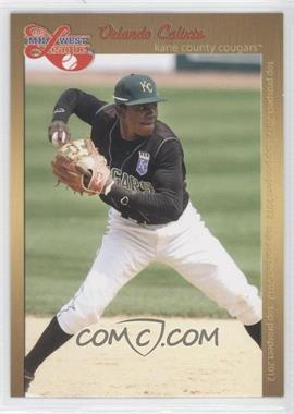2012 Grandstand Midwest League Top Prospects #ORCA - Orlando Calixte