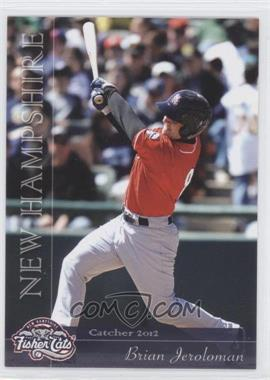 2012 Grandstand New Hampshire Fisher Cats - [Base] #NoN - Brian Jeroloman