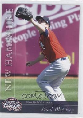2012 Grandstand New Hampshire Fisher Cats #NoN - Brad McElroy