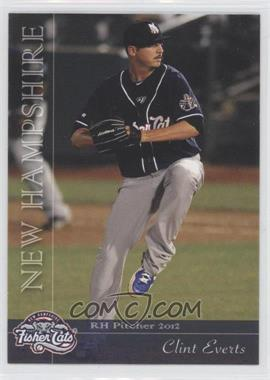 2012 Grandstand New Hampshire Fisher Cats #NoN - Clint Everts