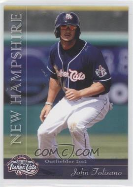 2012 Grandstand New Hampshire Fisher Cats #NoN - Josh Tomlin