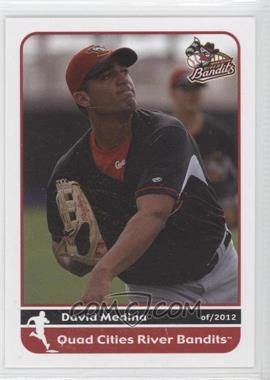 2012 Grandstand Quad City River Bandits #N/A - David Medina