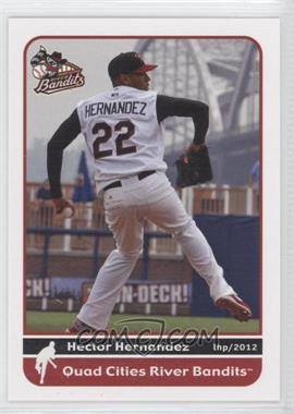 2012 Grandstand Quad City River Bandits #N/A - Heath Hembree