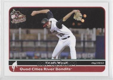 2012 Grandstand Quad City River Bandits #N/A - Heath Wyatt
