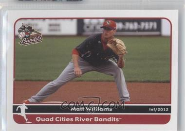 2012 Grandstand Quad City River Bandits #N/A - Matt Williams