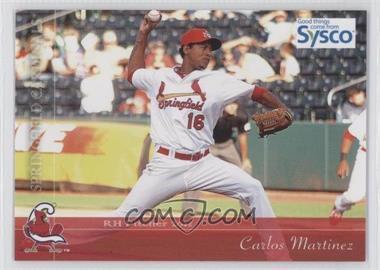 2012 Grandstand Springfield Cardinals #16 - Carlos Martinez
