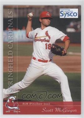 2012 Grandstand Springfield Cardinals #18 - Scott McGregor
