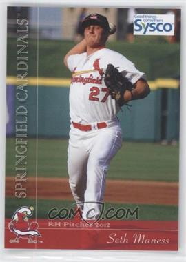 2012 Grandstand Springfield Cardinals #27 - Seth Maness