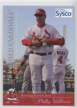 2012 Grandstand Springfield Cardinals #30 - Phillip Wellman