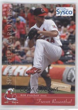 2012 Grandstand Springfield Cardinals #44 - Trevor Rosenthal