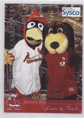 2012 Grandstand Springfield Cardinals #N/A - Springfield Cardinals Team