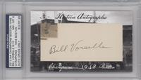 Bill Voiselle /10 [PSA/DNA Certified Auto]