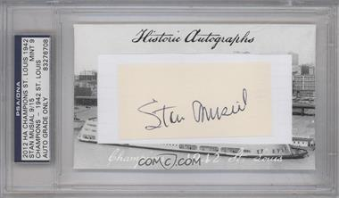 2012 Historic Autographs Champions Cut Autographs [Autographed] #STMU - Stan Musial [PSA/DNACertifiedAuto]