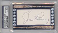 Jim Perry /18 [PSA/DNA Certified Auto]