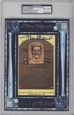2012 Historic Autographs Legends of the Hall Cut Autographs - [Base] - [Autographed] #STMU - Stan Musial /12 [PSA/DNACertifiedAuto]