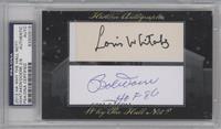 Lou Whitaker, Bobby Doerr /8 [PSA/DNACertifiedAuto]