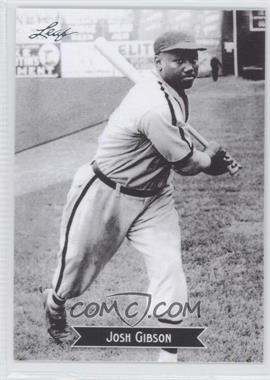 2012 Leaf - Sports Icons: The Search for Josh Gibson #3 - Josh Gibson