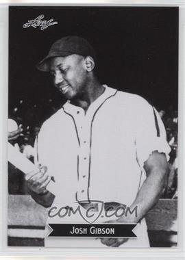 2012 Leaf - Sports Icons: The Search for Josh Gibson #6 - Josh Gibson