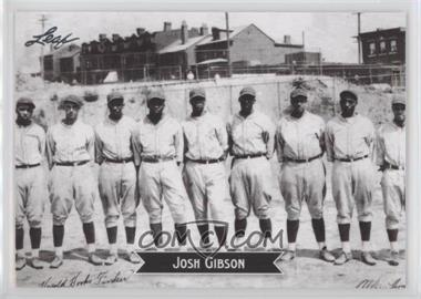 2012 Leaf - Sports Icons: The Search for Josh Gibson #7 - Josh Gibson