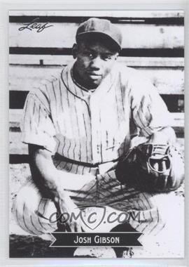 2012 Leaf - Sports Icons: The Search for Josh Gibson #8 - Josh Gibson