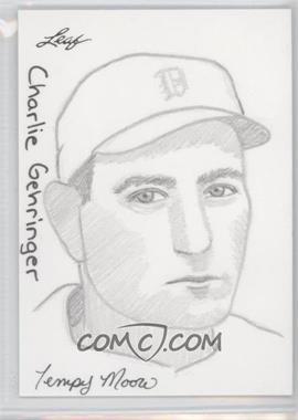 2012 Leaf Best of Baseball - Sketch #CGJP - Charlie Gehringer (Jay Pangan) /1