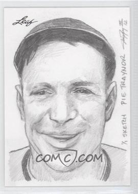 2012 Leaf Best of Baseball - Sketch #PTJP - Pie Traynor (Jay Pangan) /1