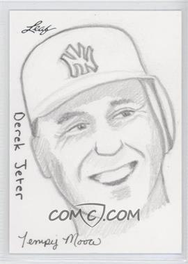 2012 Leaf Best of Baseball Sketch #DJTM - Derek Jeter (Tempy Moore) /1