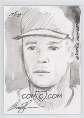 2012 Leaf Best of Baseball Sketch #EMKJ - Eddie Mathews (Kevin-John) /1