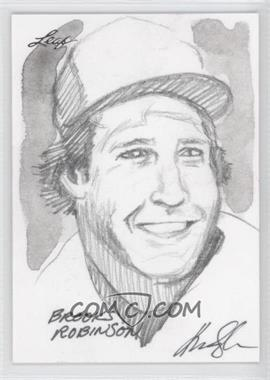 2012 Leaf Best of Baseball Sketch #N/A - Brooks Robinson /1