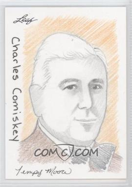 2012 Leaf Best of Baseball Sketch #N/A - Charles Comiskey /1