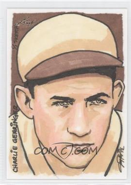 2012 Leaf Best of Baseball Sketch #N/A - Charlie Gehringer /1
