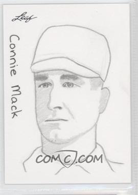 2012 Leaf Best of Baseball Sketch #N/A - Connie Mack /1