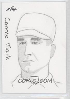 2012 Leaf Best of Baseball Sketch #N/A - Connie Mack /1