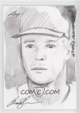 2012 Leaf Best of Baseball Sketch #N/A - Eddie Mathews /1