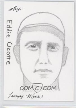 2012 Leaf Best of Baseball Sketch #N/A - Edwin Cintron /1