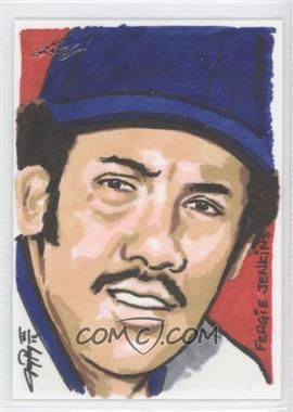 2012 Leaf Best of Baseball Sketch #N/A - Fergie Jenkins /1