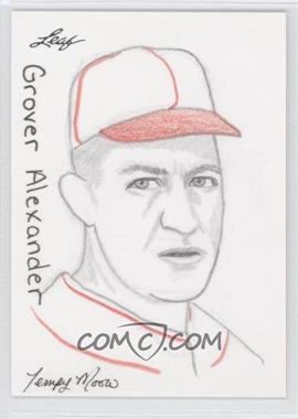 2012 Leaf Best of Baseball Sketch #N/A - Greg Alexander /1