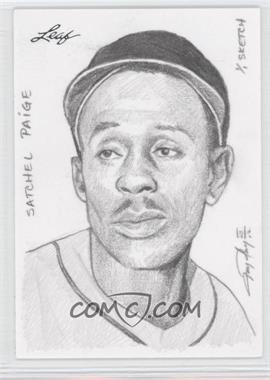 2012 Leaf Best of Baseball Sketch #N/A - Satchel Paige /1