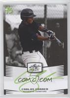 Carlos Correa (Lime Green Ink /5)
