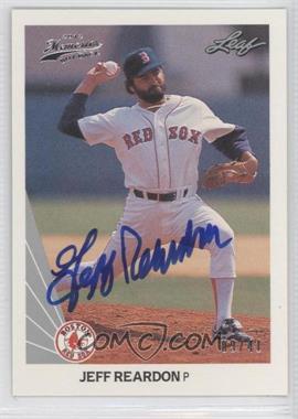 2012 Leaf Memories - 1990 Leaf Buy Back - [Autographed] #276 - Jeff Reardon /41